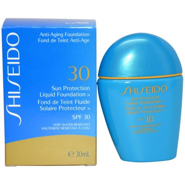 Shiseido Sun Protection SP60 Liquid Foundation