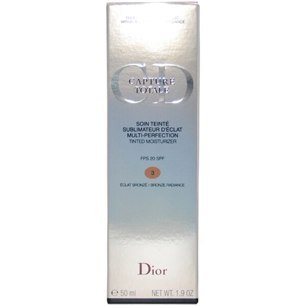 Dior Capture Totale Multi-Perfection ##3 Bronze Radiance Tinted Moisturizer