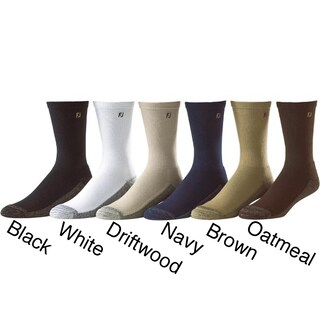 FootJoy Men's ProDry Crew Golf Socks (Pack of 6)