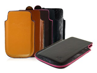 Kroo iPhone 5 Napa Leather Carrying Case (5 options available)