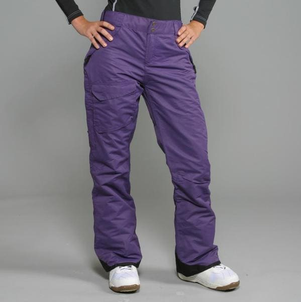 Pulse Women's 'Rider' Purple Snowboard Pants