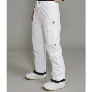 Pulse Women's White Cargo Snowboard Pants - Free Shipping Today ...