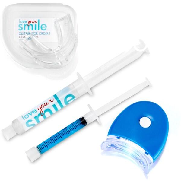 Ultimate Teeth Whitening Starter Kit with Mega-Size Gel and After Whitener Reminaralization Gel