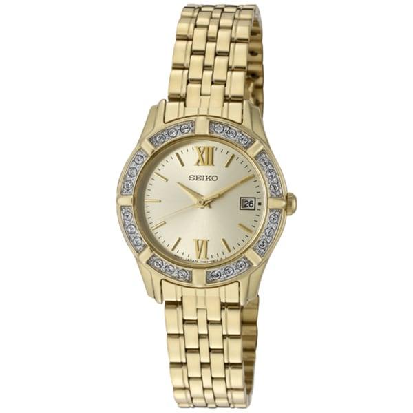 Seiko Women's Goldtone Stainless Steel Watch