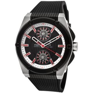 Rotary Men's 'Evolution TZ3' Black Textured Rubber Watch