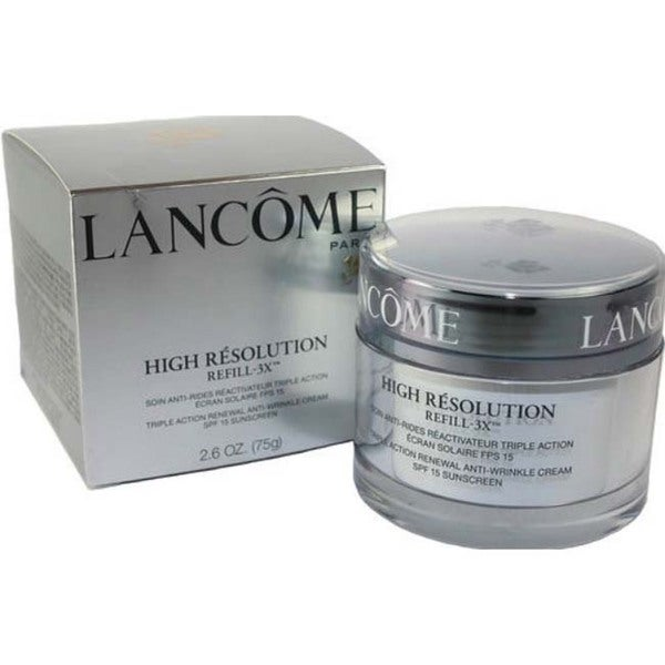 Lancome High Resolution Refill-3x Anti-wrinkle Cream with SPF15