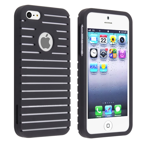 BasAcc Black Parallax Snap-on Case for Apple iPhone 5