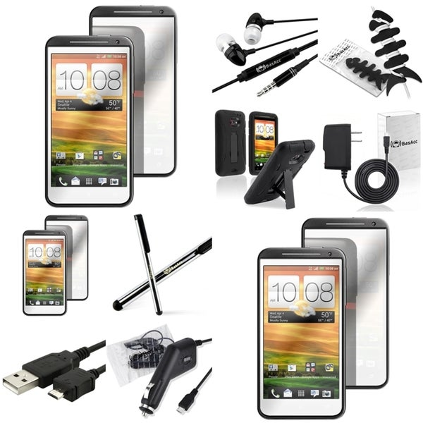 BasAcc Case/ Protector/ Chargers/ Cable/ Stylus for HTC EVO 4G LTE