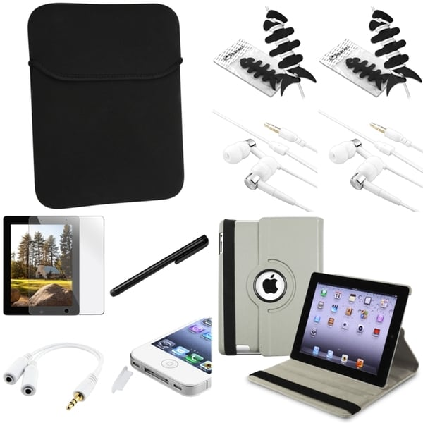 BasAcc Case/ Protector/ Chargers/ Headset/ Stylus for Apple iPad 2