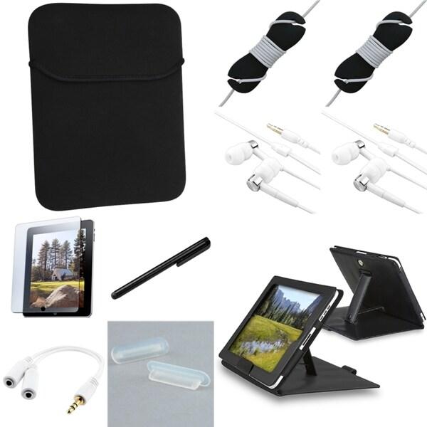 BasAcc Case/ Protector/ Splitter/ Headset/ Stylus for Apple iPad 1