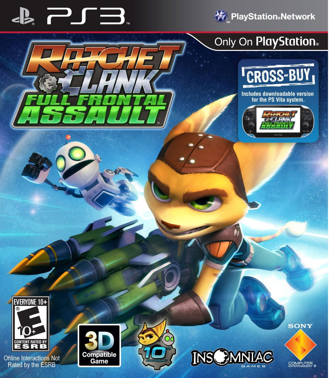 PS3 - Ratchet & Clank: Full Frontal Assault - Thumbnail 0