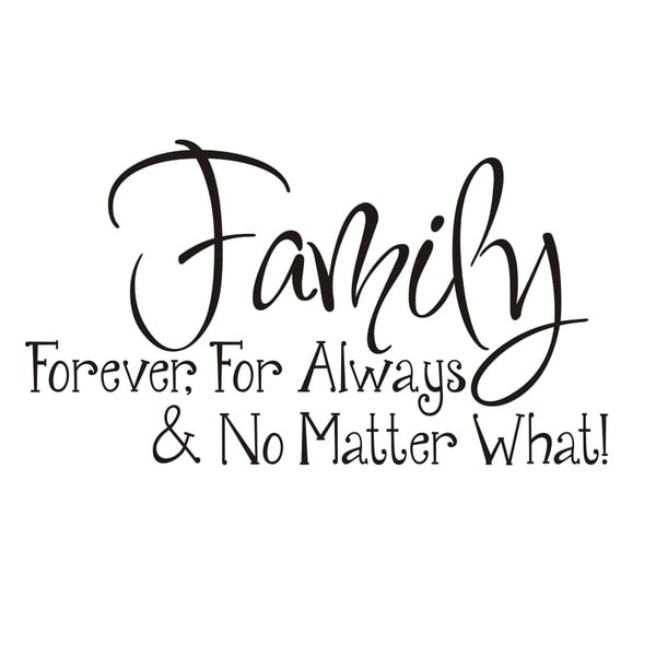 shop vinyl attraction family forever for always no matter what