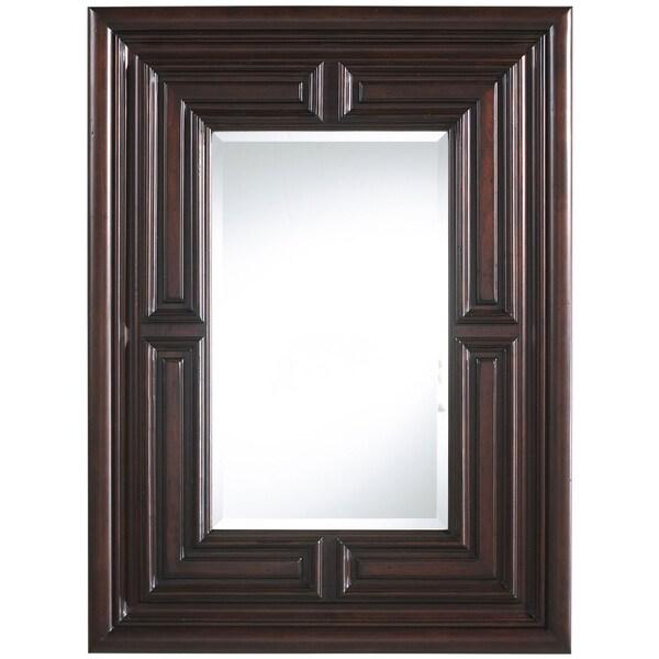 Marcella Old World Finish Rectangular Mirror