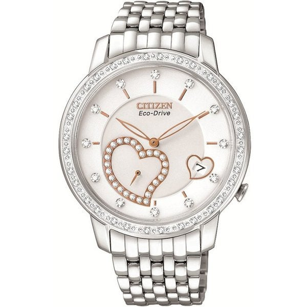 Citizen Women's Stainless Steel Eco-Drive Desire Watch