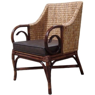 Rattan Living Brown Occasional Chair