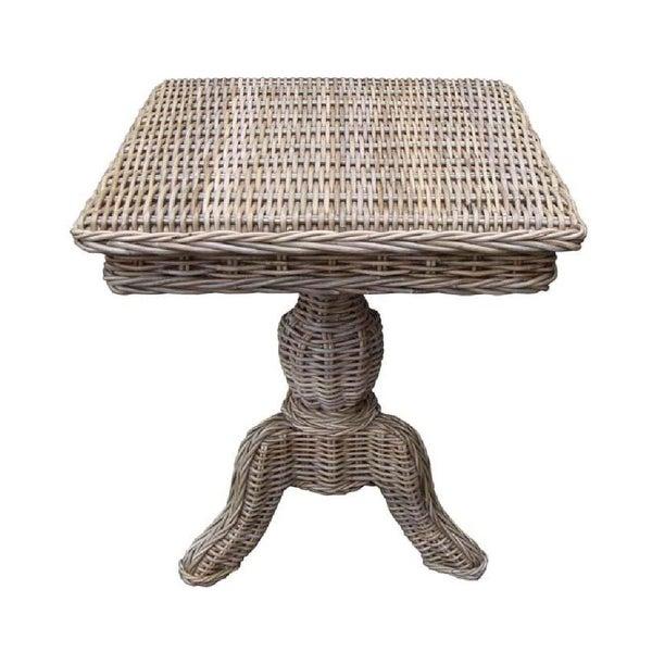 Rattan Living Wicker Side Table