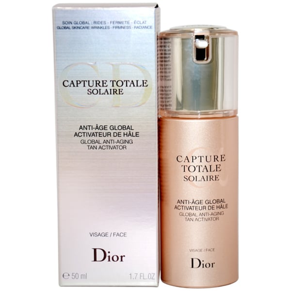dior capture totale solaire global anti aging tan. Black Bedroom Furniture Sets. Home Design Ideas