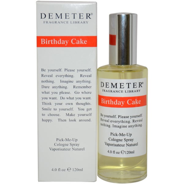 Demeter Birthday Cake Women's 4-ounce Cologne Spray