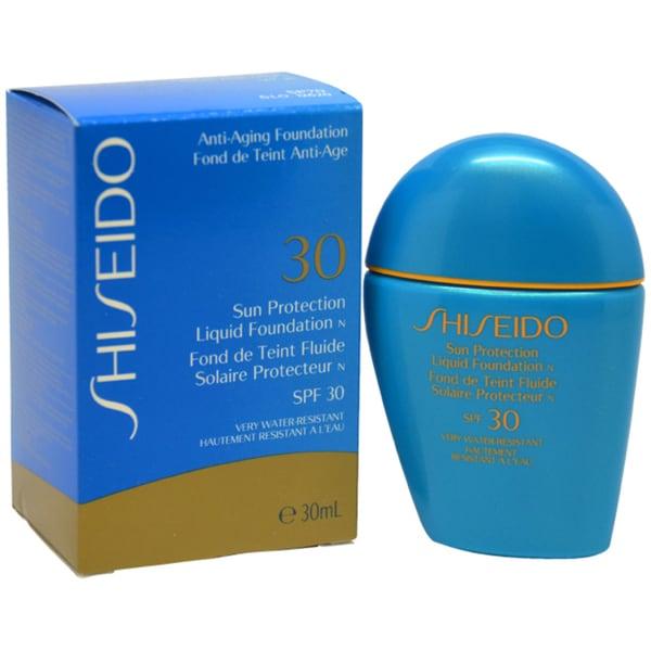 Shiseido Sun Protection SP50 Liquid Foundation