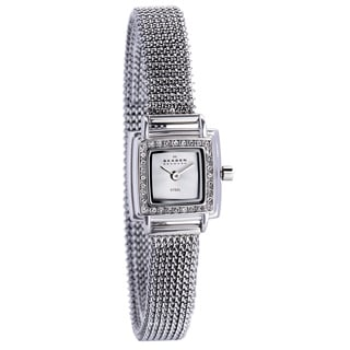 Skagen Women's 821XSSS1 Stainless-Steel Crystal Square Watch