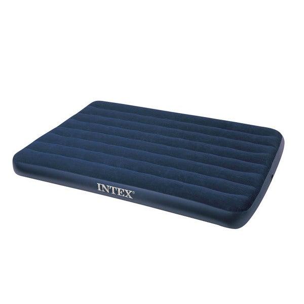 Intex Classic Downy Royal Blue Air Bed
