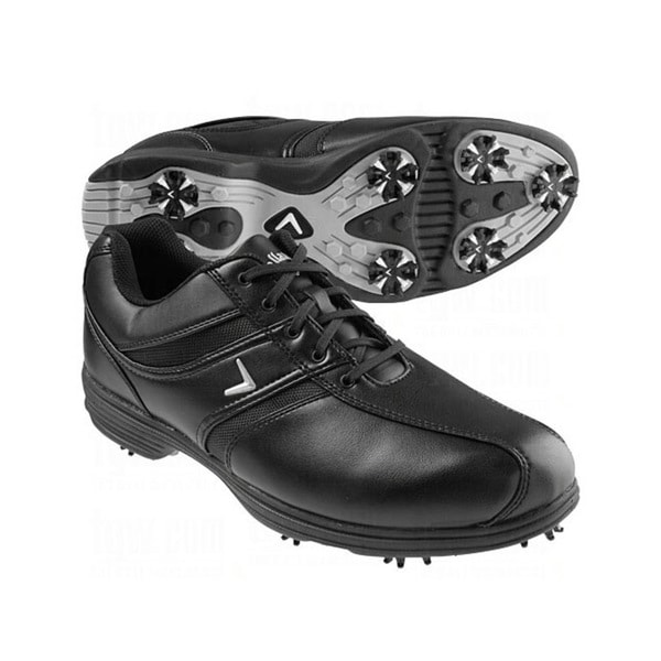 Callaway Men's Chev Comfort Saddle Black Golf Shoes