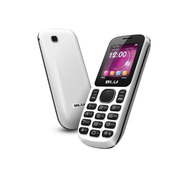 BLU Jenny T172 GSM Unlocked Dual SIM Cell Phone - White