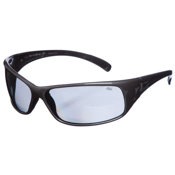 Bolle Men's 'Recoil' Gunmetal Grey Sport Sunglasses