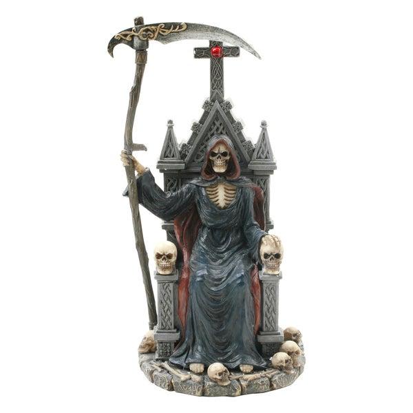 Master Cutlery Grim Reaper Throne Statue
