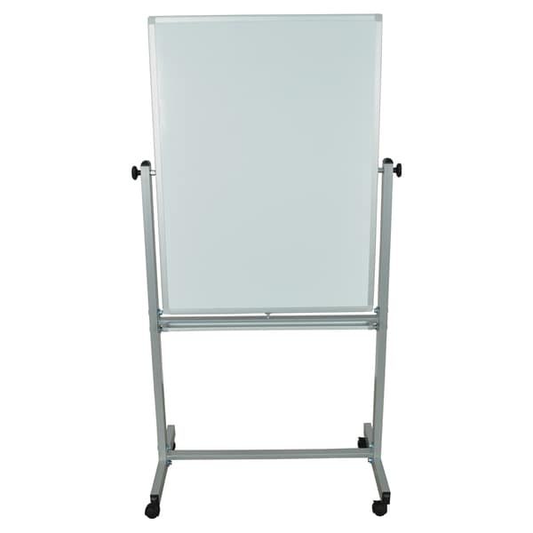 Luxor Small Reversible Magnetic Double-sided Mobile Whiteboard