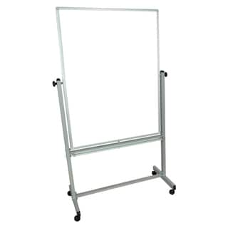 Wall-mounted Double-sided 48 x 36-inch Magnetic Whiteboard