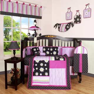 Geenny Boutique Charming 13-piece Crib Bedding Set
