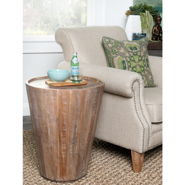 Kosas Home Hamshire Barrel Side Table