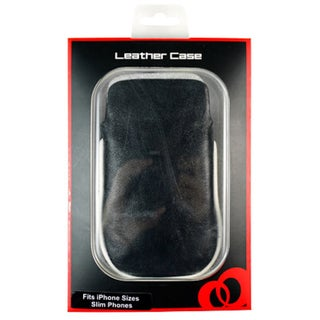 Kroo iPhone 5 Micro Leather Carrying Case