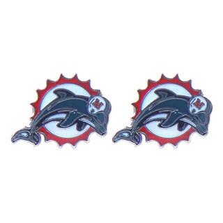 NFL Post Stud Logo Earring Charms Set