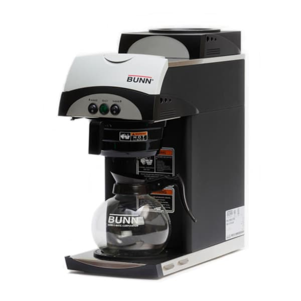 Bunn Coffee Maker Overstock : BUNN 392 Gourmet Pourover Coffee Brewer with Two warmers - Free Shipping Today - Overstock.com ...