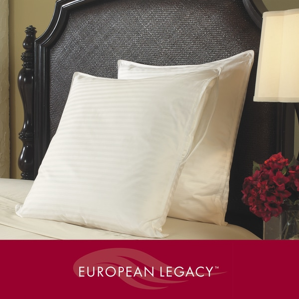 European Legacy Damask Eurosquare Pillow Protector 26x26 (Set of 2)