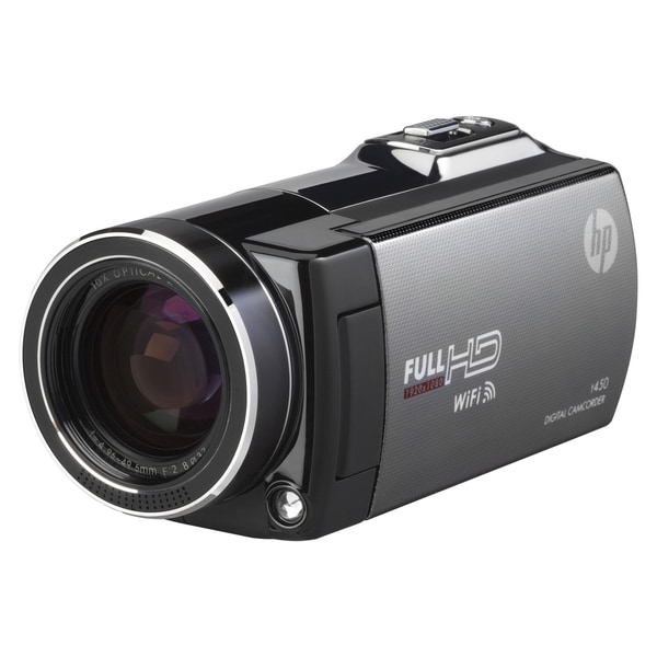 "HP Digital Camcorder - 3"" - Touchscreen LCD - CMOS - Full HD"