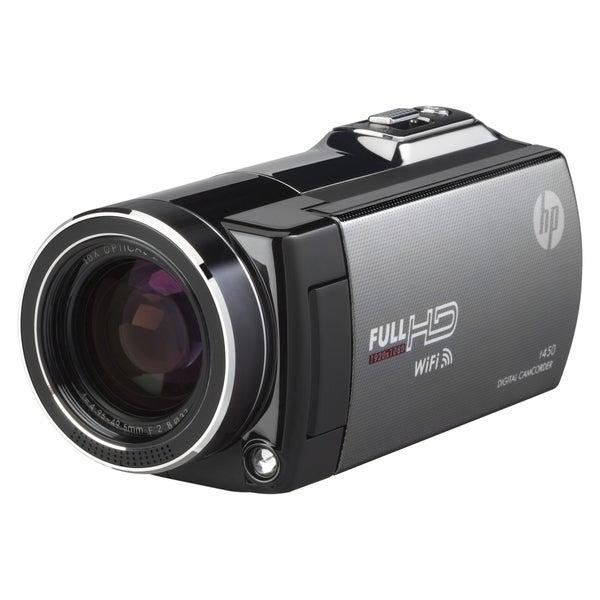 "HP Digital Camcorder - 3"" - Touchscreen LCD - CMOS - Full HD"