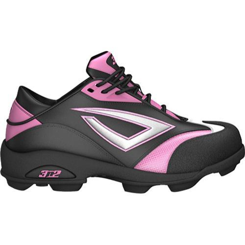 Women's 3N2 Accelerate Fastpitch Molded Black/Pink/Silver