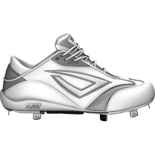89bc1c881 Shop Women s 3N2 Accelerate Metal Pitching Toe White Silver - Free Shipping  Today - Overstock - 7485355