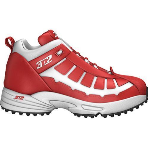 Men's 3N2 Pro Turf Trainer Mid Red/White