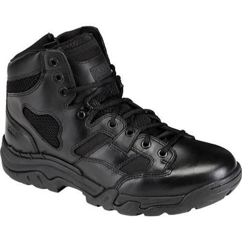 Men's 5.11 Tactical Taclite 6in Boot Side Zip Black