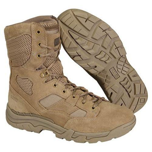 Men's 5.11 Tactical Taclite 8in Boot Coyote