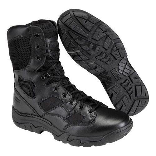 Men's 5.11 Tactical Taclite 8in Boot Side Zip Black