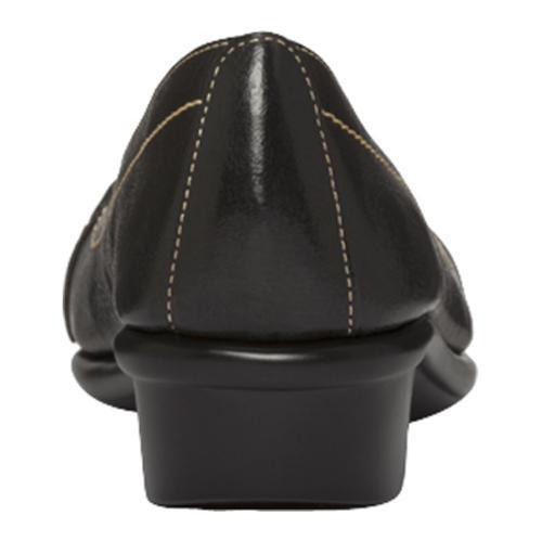 Women's Aerosoles Megaphone Black Leather - Thumbnail 2