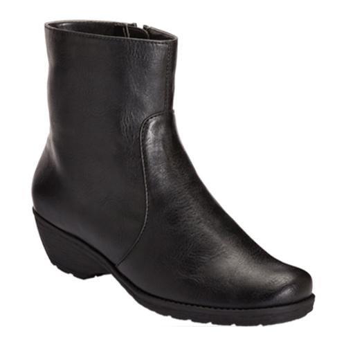 Women's Aerosoles Speartint Black Faux Leather