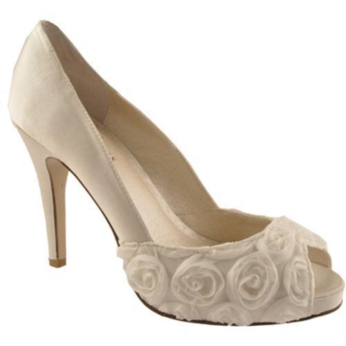 Women's Allure Bridals Coco Ivory Silk Satin