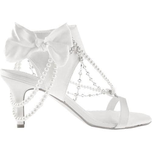 Women's Allure Bridals Fabulous Diamond White Silk Satin - Thumbnail 1