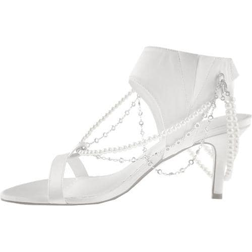 Women's Allure Bridals Fabulous Diamond White Silk Satin - Thumbnail 2